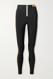 P.E NATION Level Up color-block stretch leggings