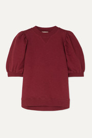 Ulla Johnson Rami cotton-jersey sweatshirt