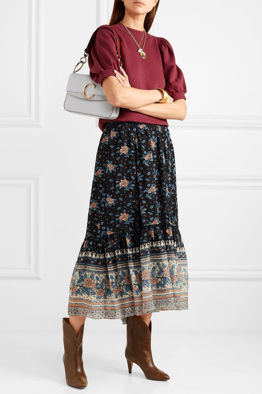 Ulla Johnson Rami cotton-jersey sweatshirt