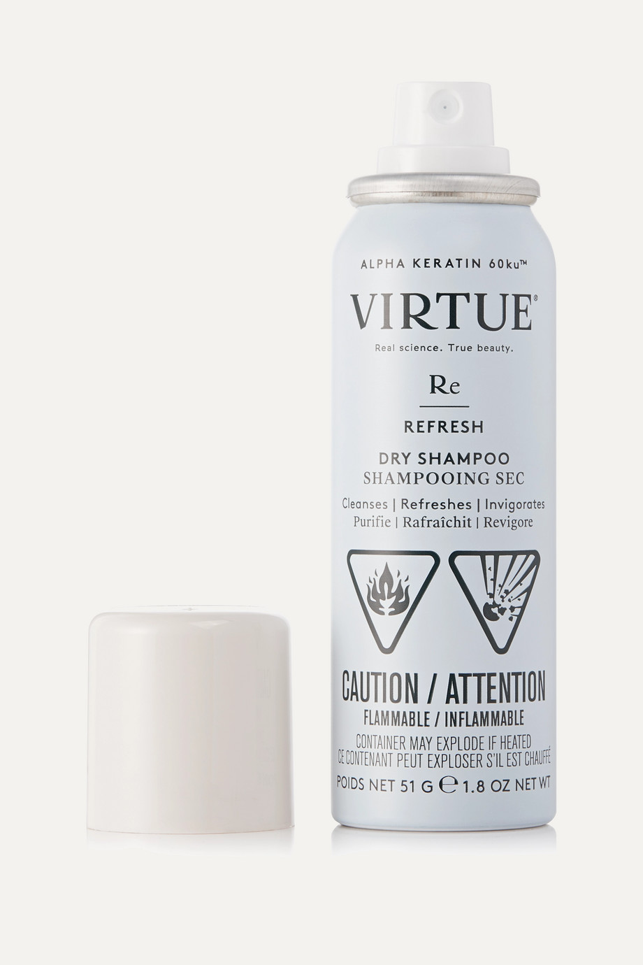 Virtue Refresh Dry Shampoo, 51g
