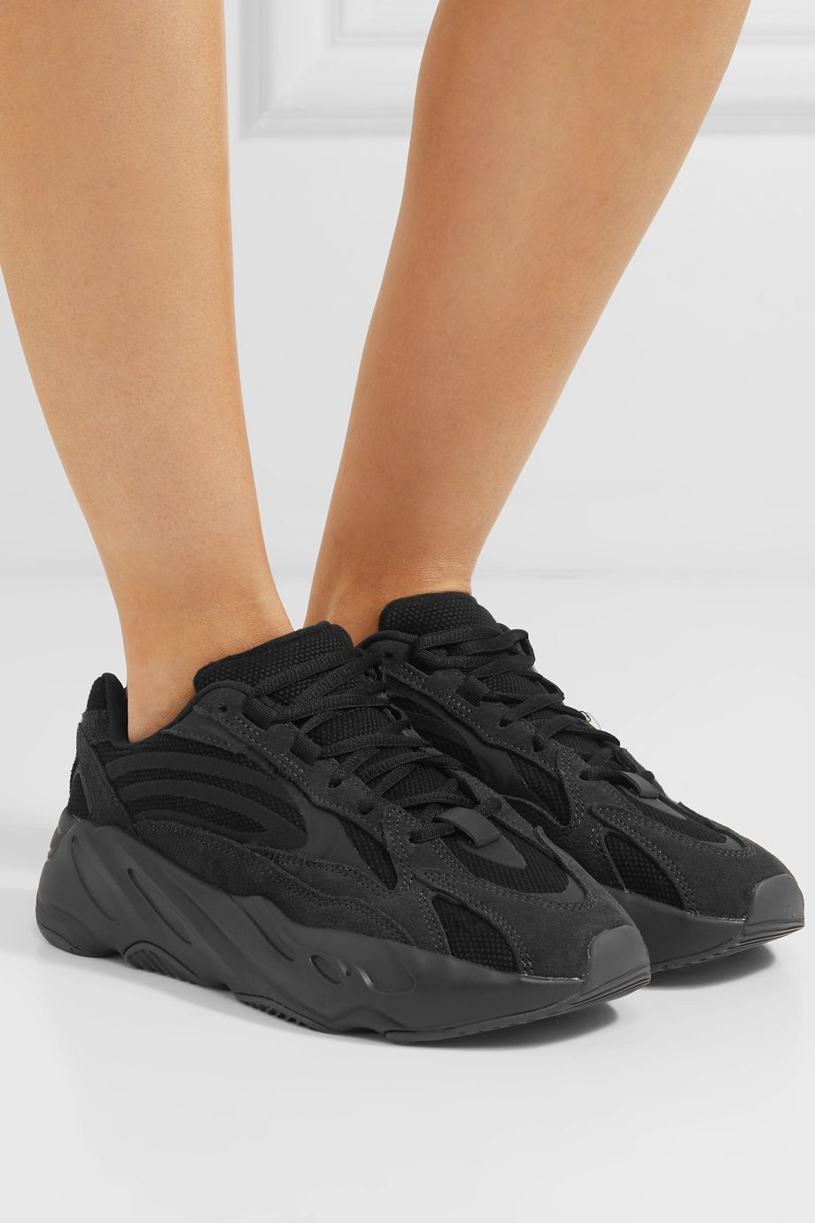 adidas Originals Yeezy Boost 700 V2 mesh and suede sneakers