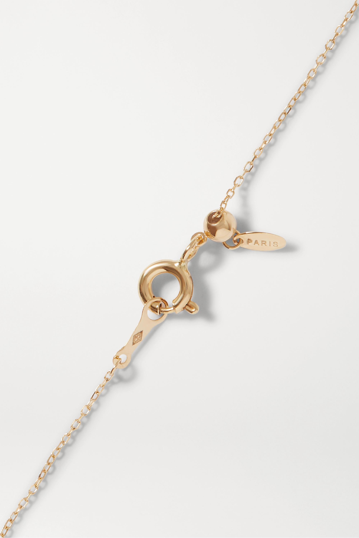 Gold Feministe 18-karat Diamond Bracelet | Persée