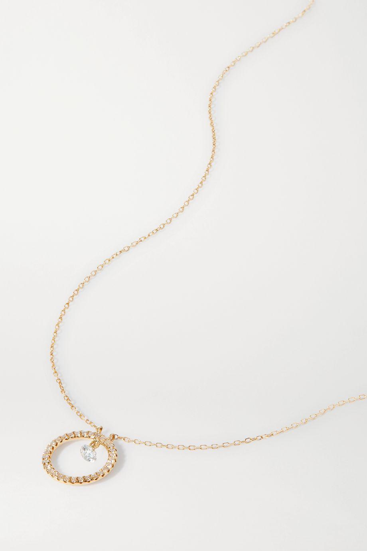 Persée Comic Strip 18-karat gold diamond necklace