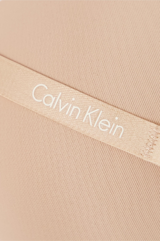Calvin Klein Underwear Sculpted trägerloser T-Shirt-BH aus Stretch-Jersey mit Bügeln