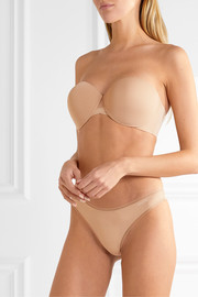Calvin Klein Underwear Sculpted stretch-jersey underwired strapless bra