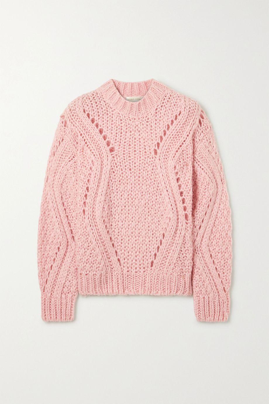 Stine Goya Alex cable-knit sweater