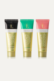 LEBON Green Toothpaste Gift Set, 3 x 25ml