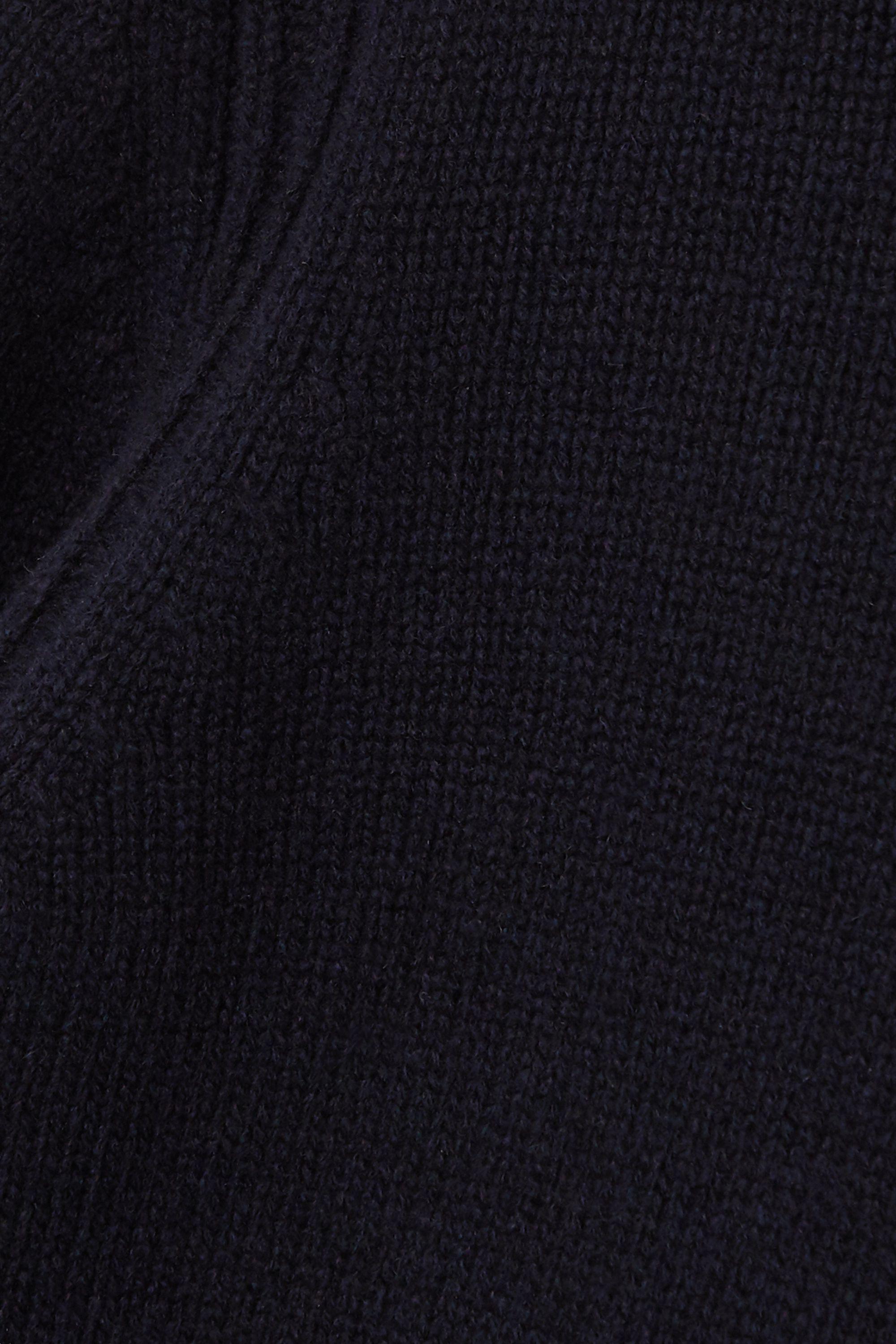 &Daughter + NET SUSTAIN Roshin wool turtleneck sweater