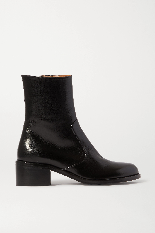 Black Ankle Shoe Boots