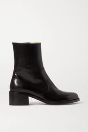 BY FAR Lara leather ankle boots