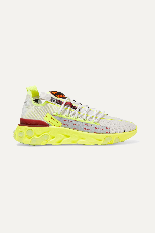 Yellow React ISPA mesh sneakers   Nike
