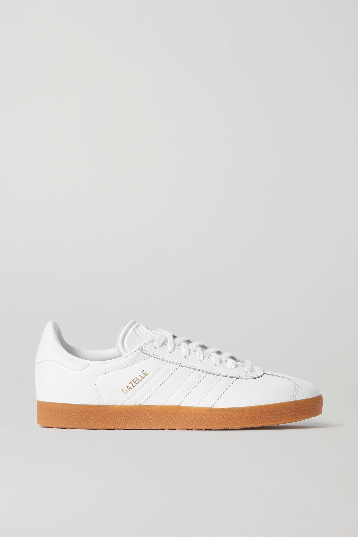 White Gazelle leather sneakers | adidas