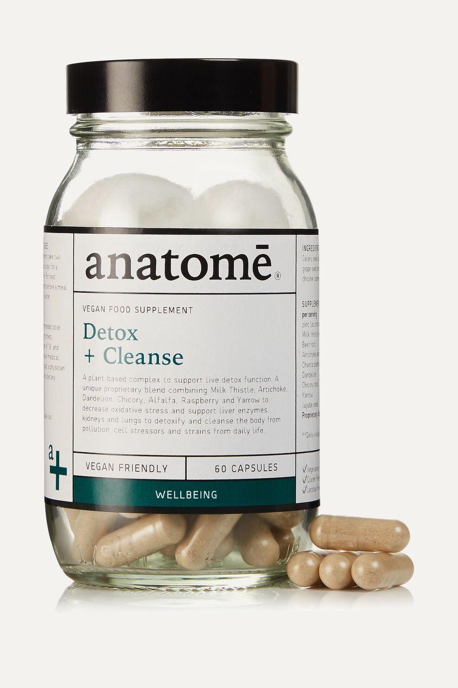 anatomē Vegan Food Supplement - Detox + Cleanse (60 capsules)