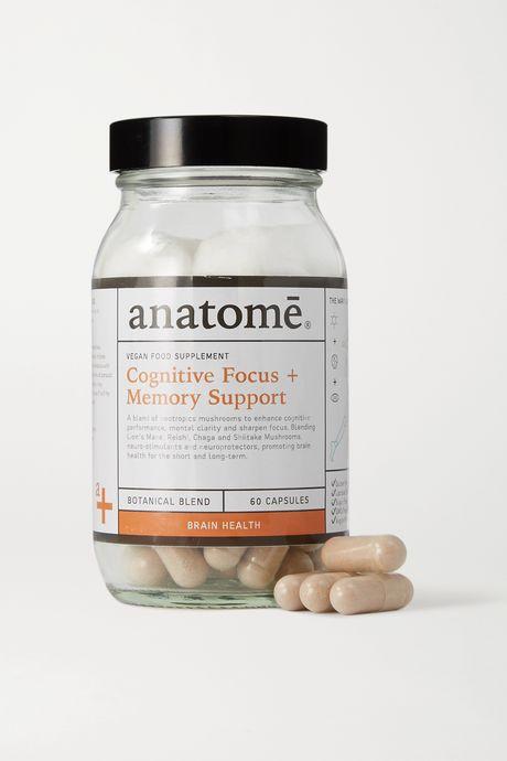 Colorless Vegan Food Supplement - Cognitive Focus + Energy (60 capsules) | anatomē. BwxibG