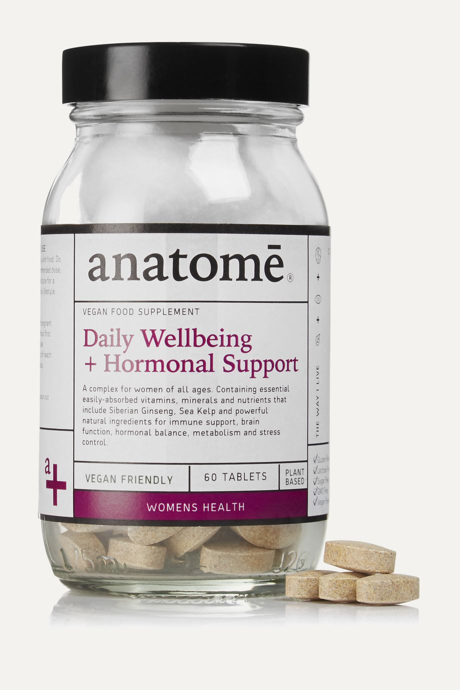 anatomē Women's Daily Wellbeing + Hormonal Support - 60 capsules