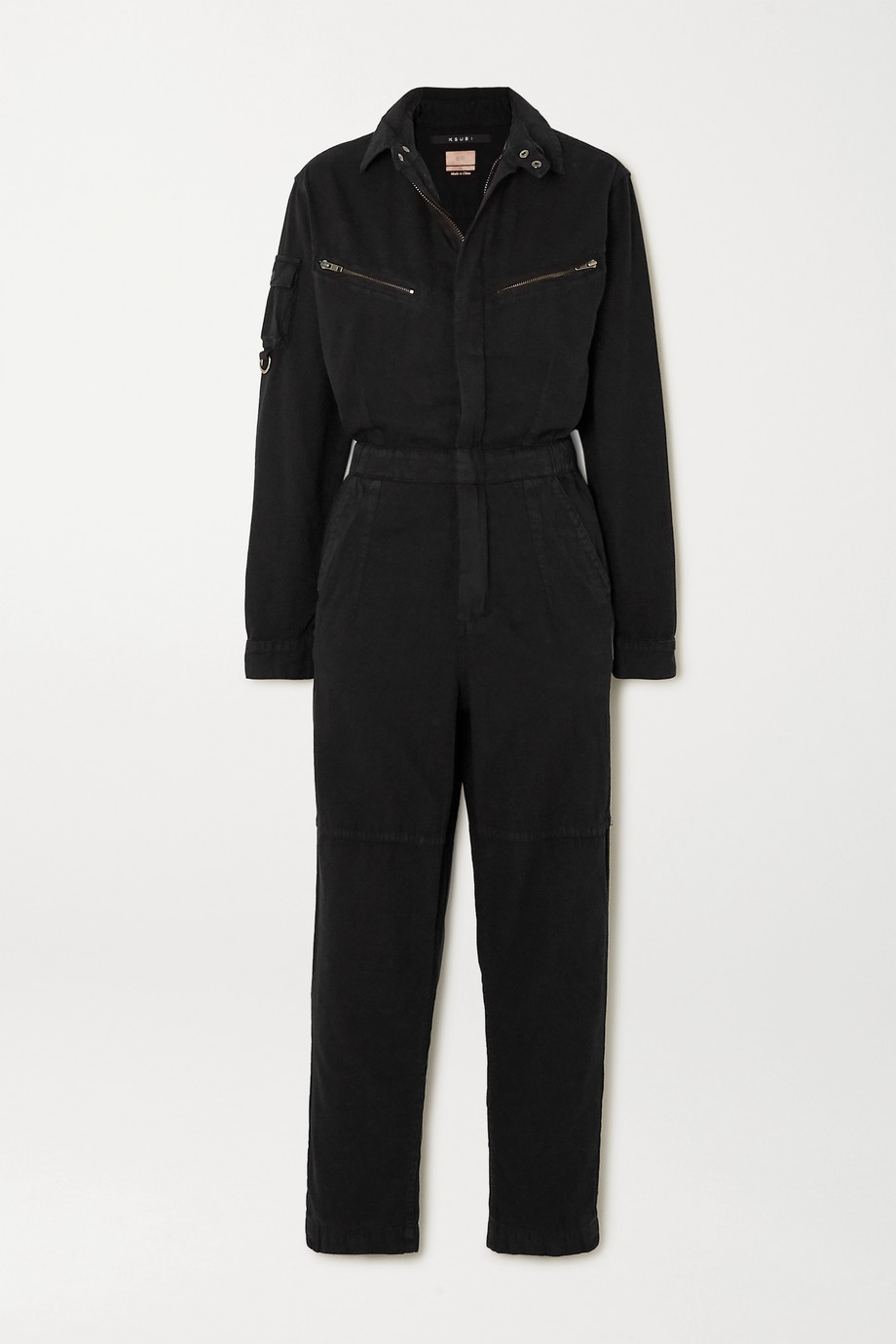 Ksubi Lucid cotton-twill jumpsuit