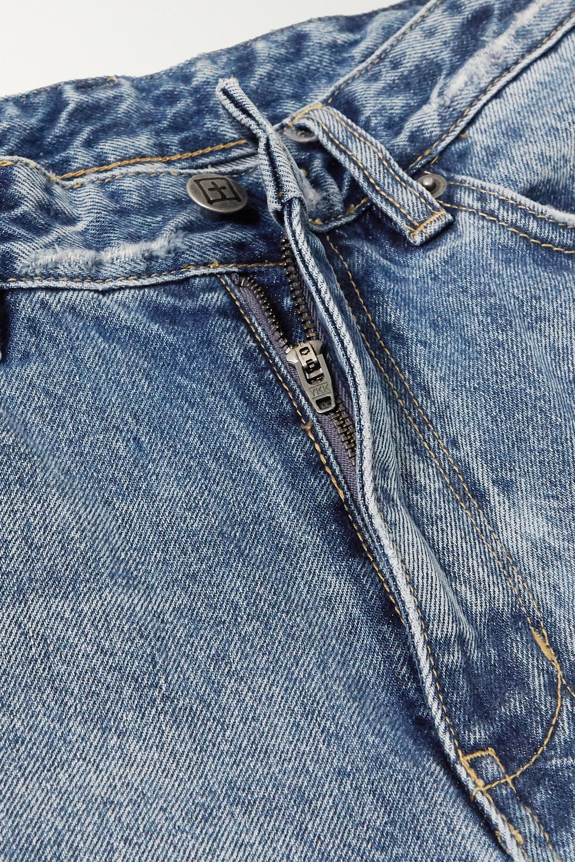 Ksubi Kicker hoch sitzende Jeans mit weitem Bein