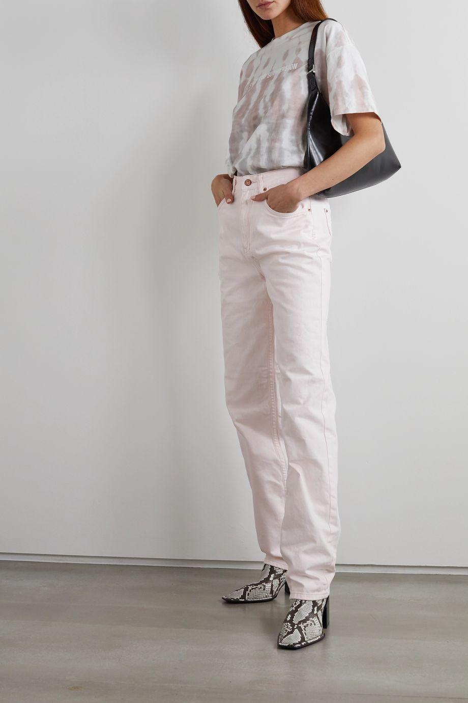 Ksubi Playback high-rise straight-leg jeans
