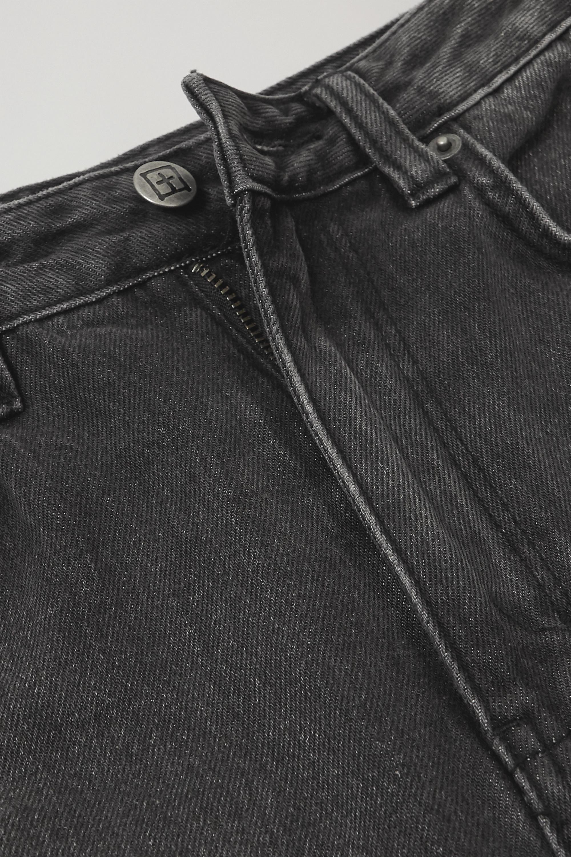 Ksubi Chlo Wasted hoch sitzende Jeans mit geradem Bein in Distressed-Optik