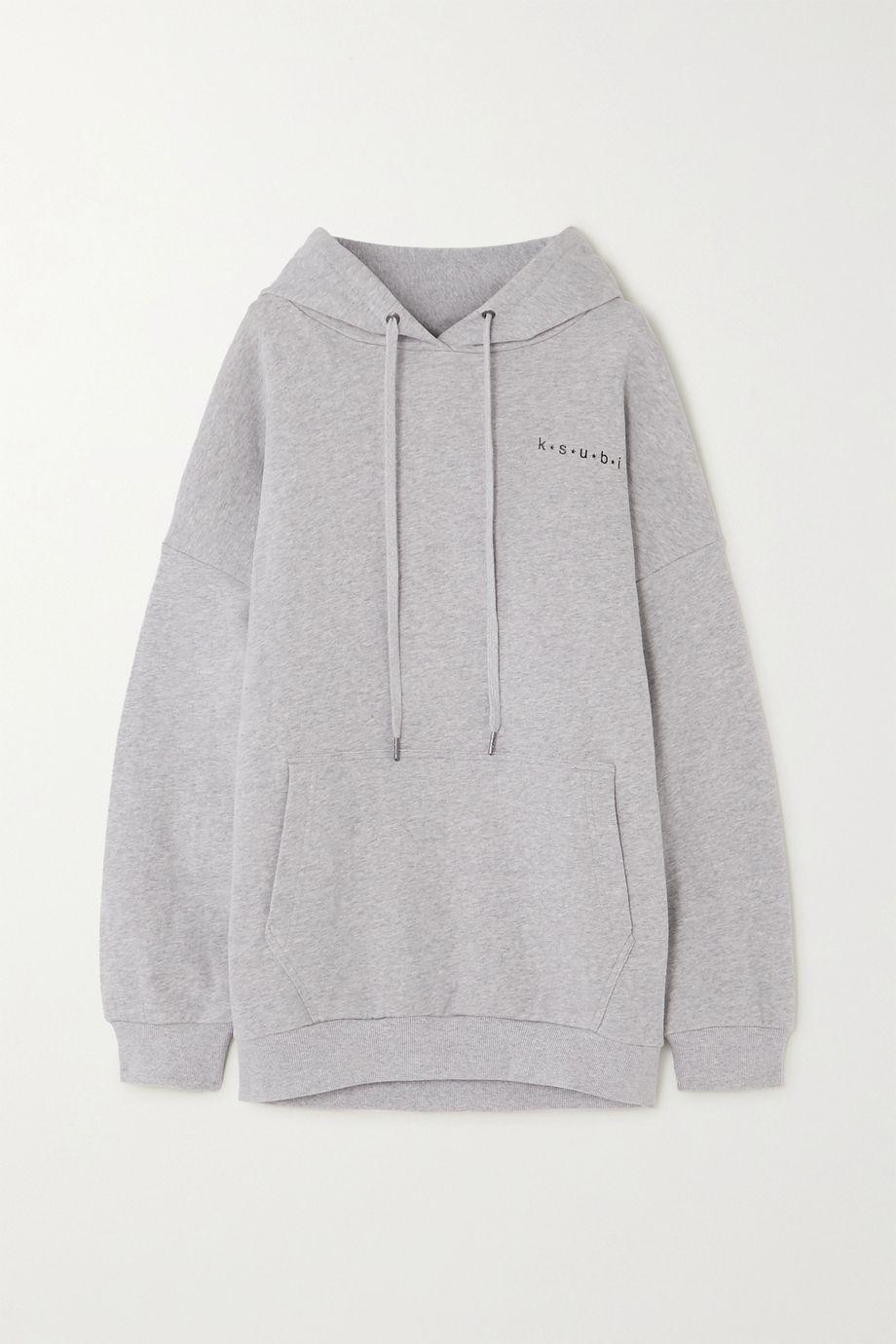 Ksubi 4 Star printed cotton-jersey hoodie