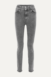 +Elsa Hosk Saturday high-rise skinny jeans