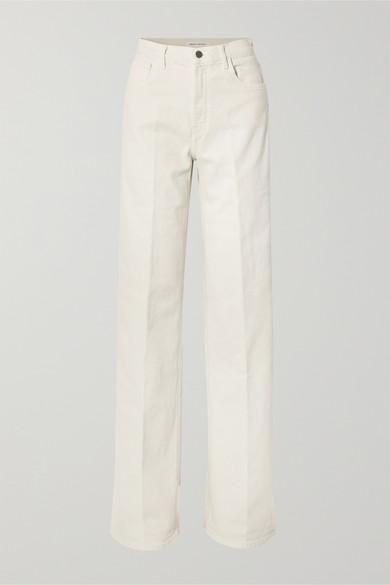 + Elsa Hosk Monday High Rise Wide Leg Jeans by J Brand