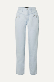 + Elsa Hosk Playday high-rise straight-leg jeans