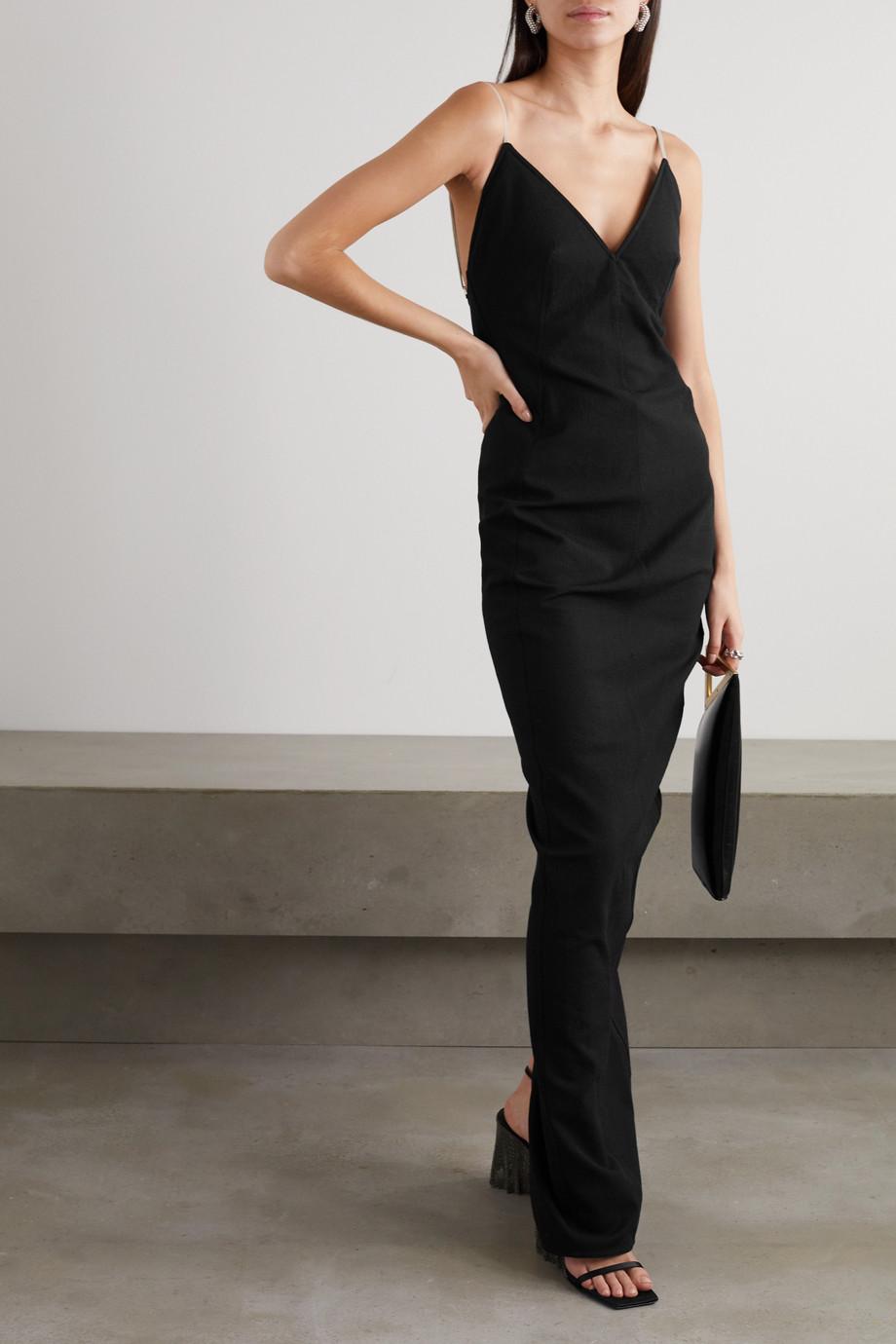 Rick Owens Cotton-blend crepe gown