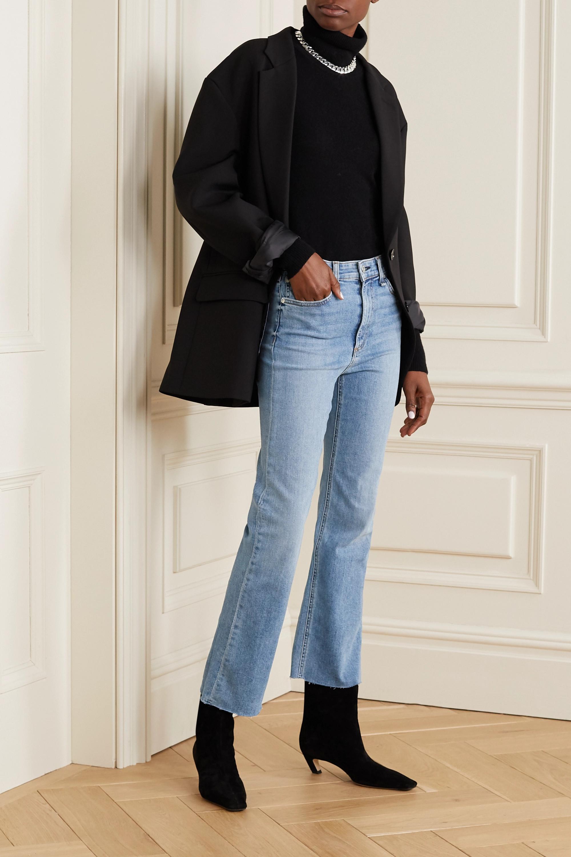 rag & bone Nina cropped high-rise flared jeans