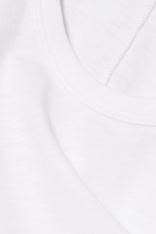 rag & bone Débardeur en jersey de coton Pima stretch flammé
