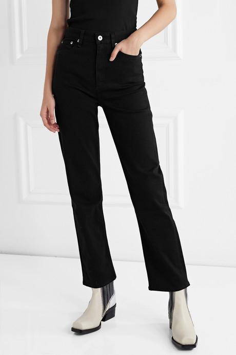 Jane Super high-rise straight-leg jeans