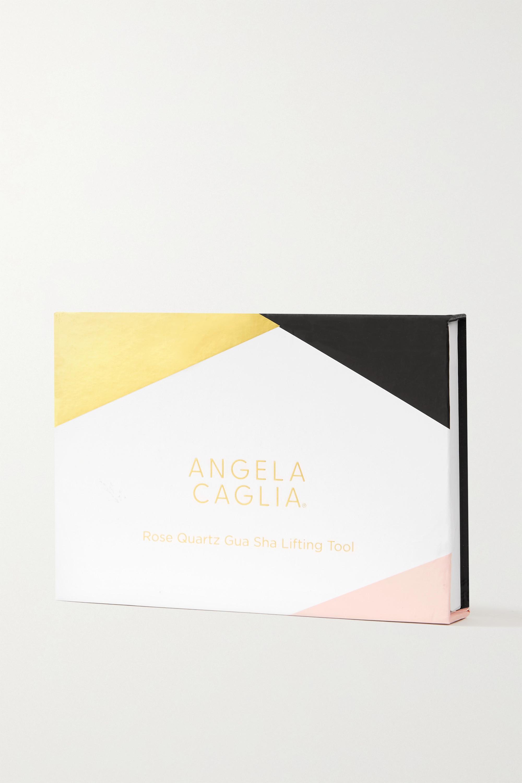 Angela Caglia Rose Quartz Gua Sha Lifting Tool