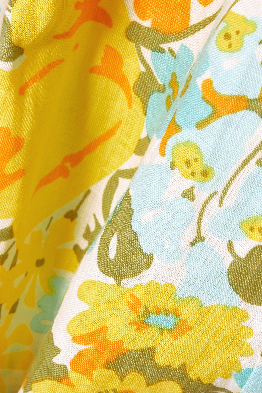 Faithfull The Brand Ondine floral-print linen shorts
