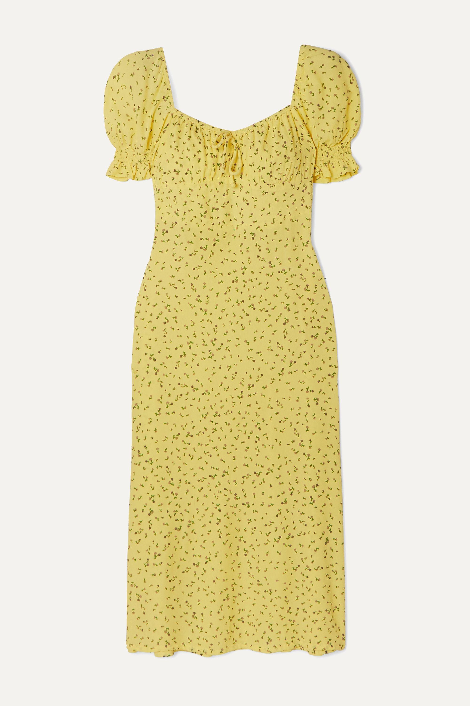 Faithfull The Brand Evelyn floral-print crepe midi dress