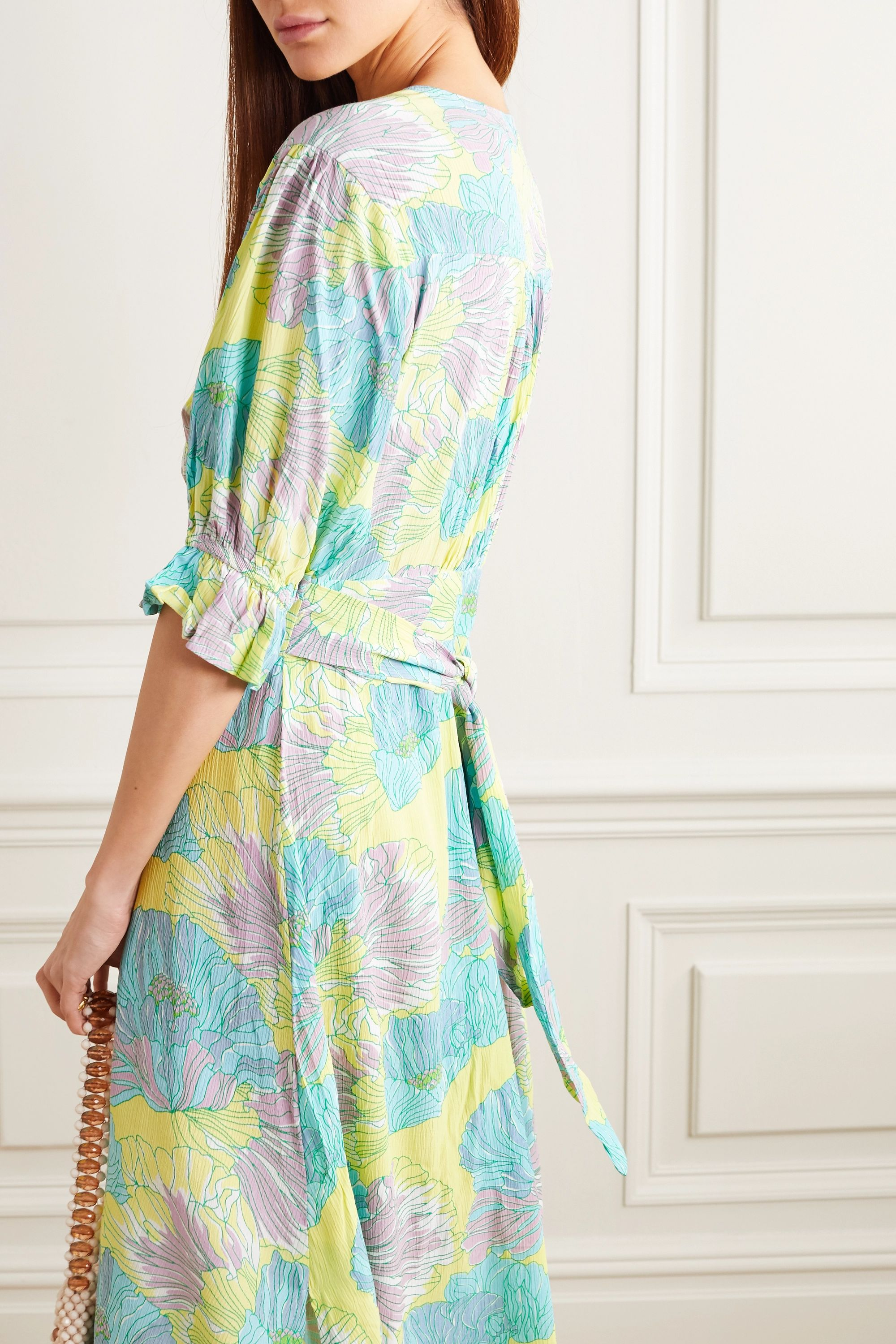 Faithfull The Brand Rafa floral-print crepe midi dress