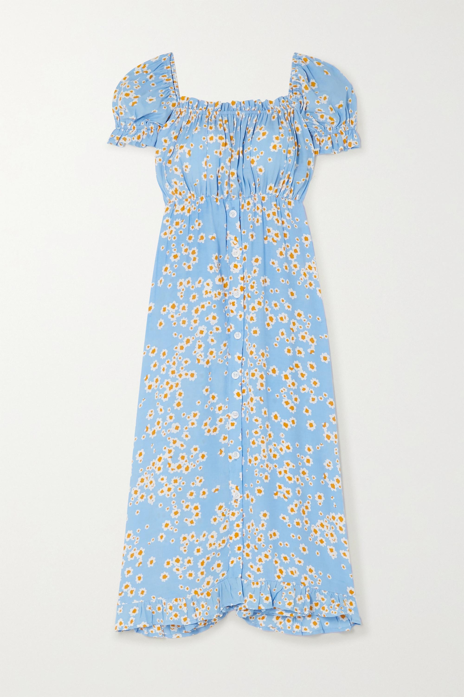Faithfull The Brand Ina floral-print crepe midi dress