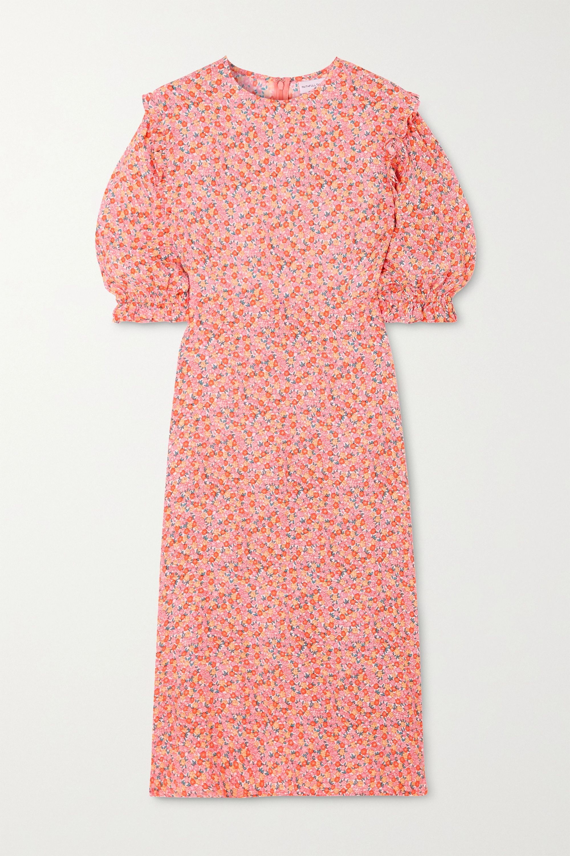 Faithfull The Brand Jean-Marie floral-print crepe midi dress