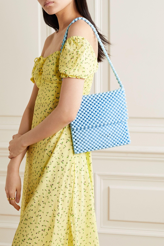 Faithfull The Brand Beaded shoulder bag