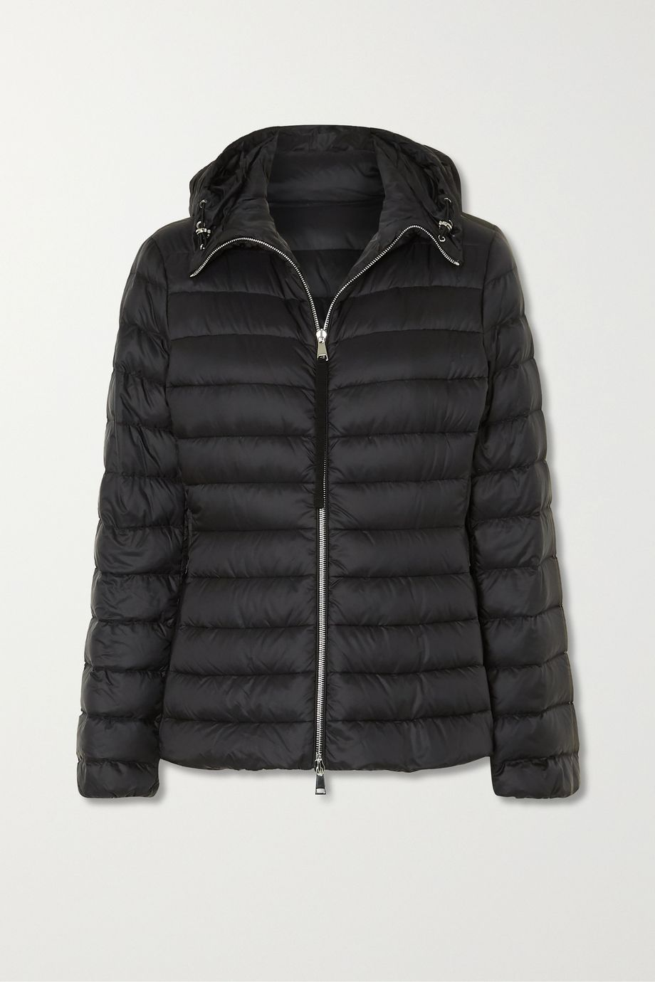 Moncler Amethyste hooded quilted shell down jacket