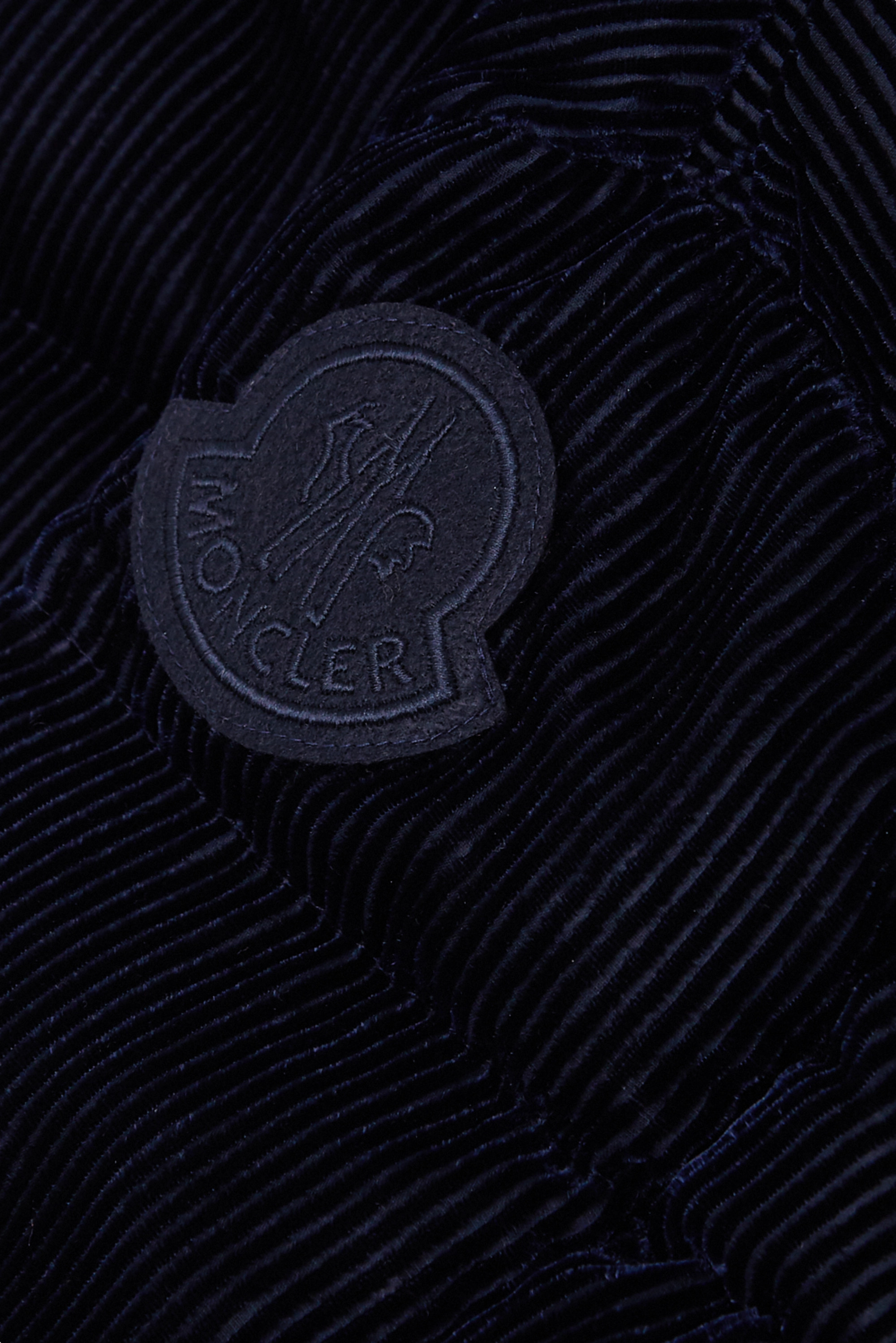Moncler Quilted corduroy down jacket