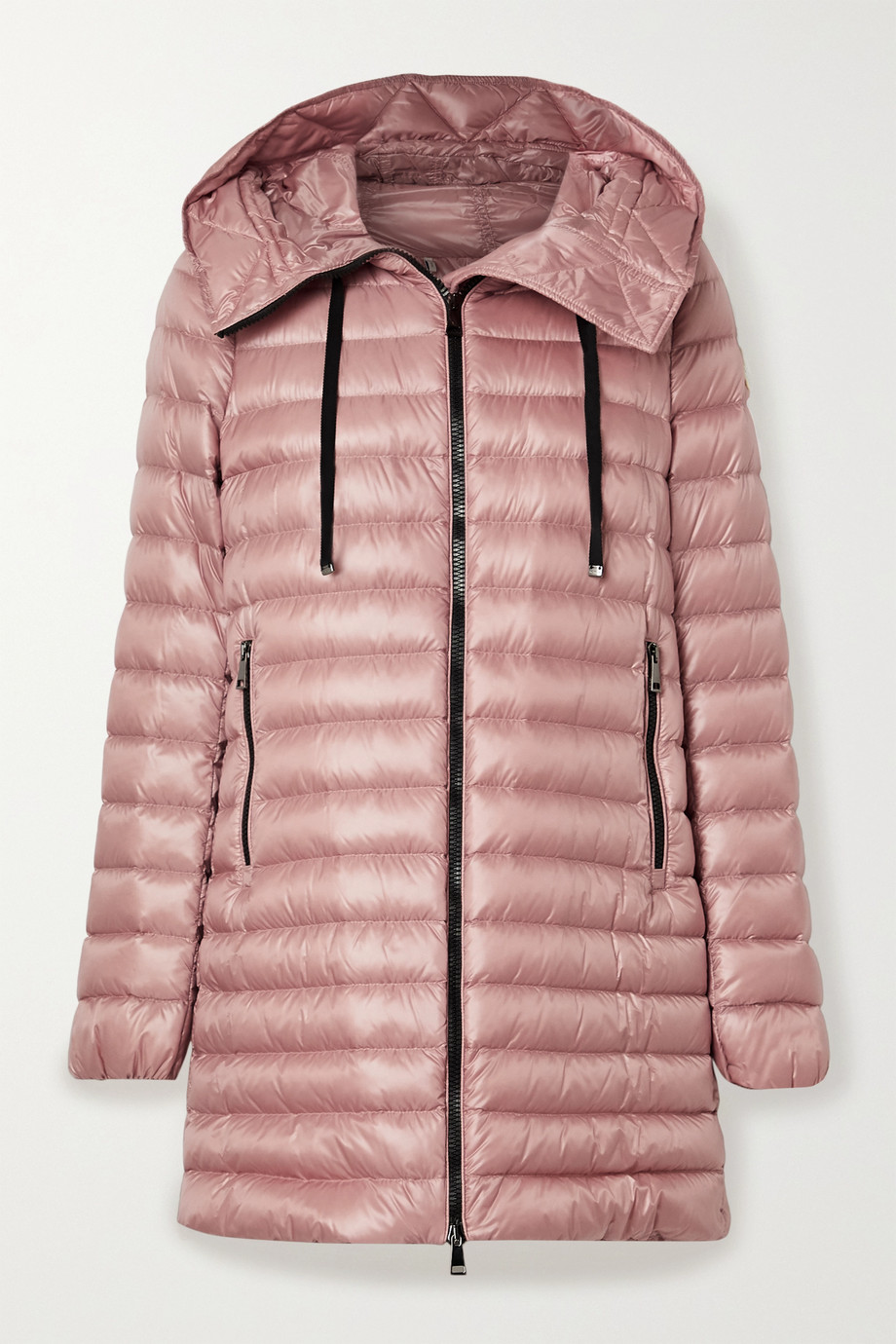 Moncler Rubis hooded quilted shell down jacket