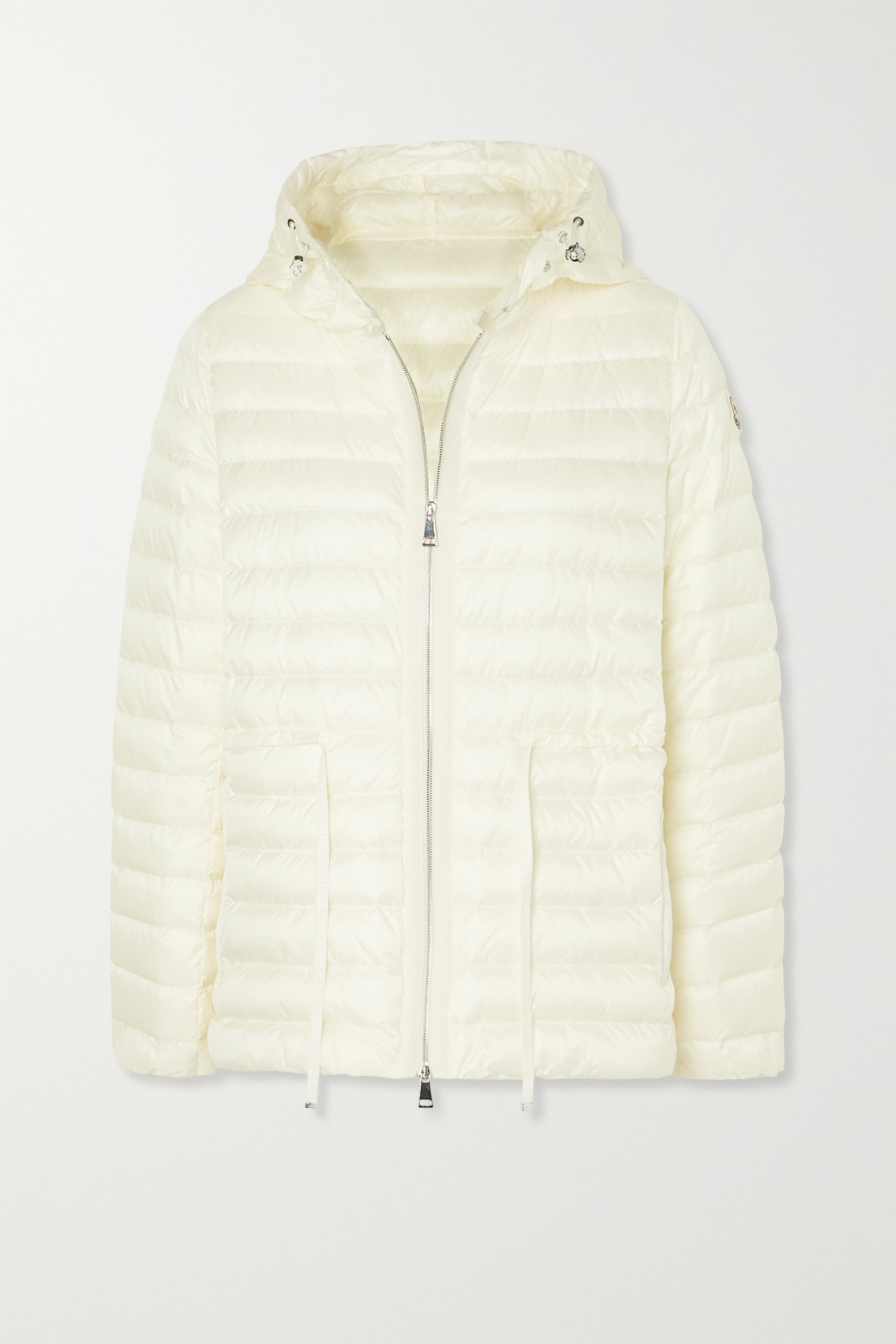 Raie hooded quilted shell down jacket