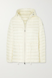 Moncler Raie hooded quilted shell down jacket
