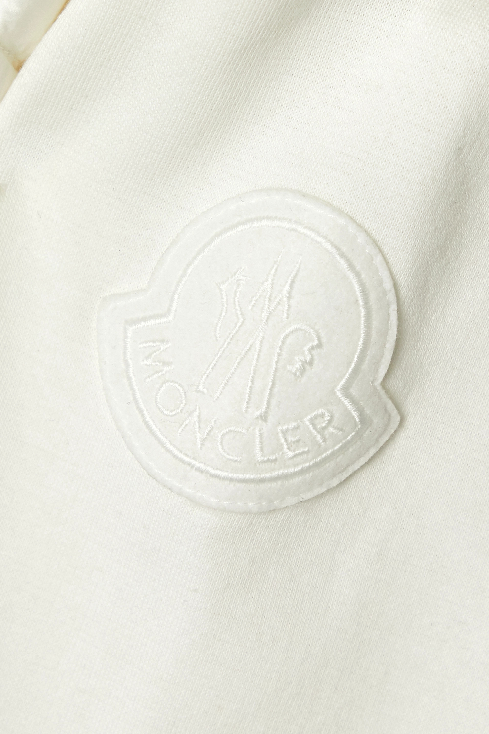Moncler Quilted shell and cotton-blend jersey down jacket