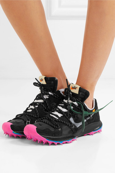 promo code 7c918 e0bfa Nike | + Off-White Zoom Terra Kiger 5 faux suede and mesh ...