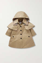 Ages 3 - 12 cotton-gabardine trench coat