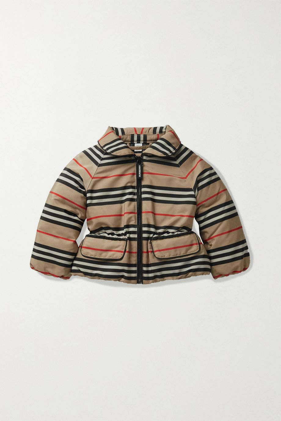 Burberry Kids Months 6 - 24 printed shell down jacket