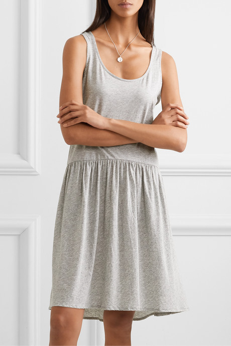Euginnia Pima cotton-jersey nightdress