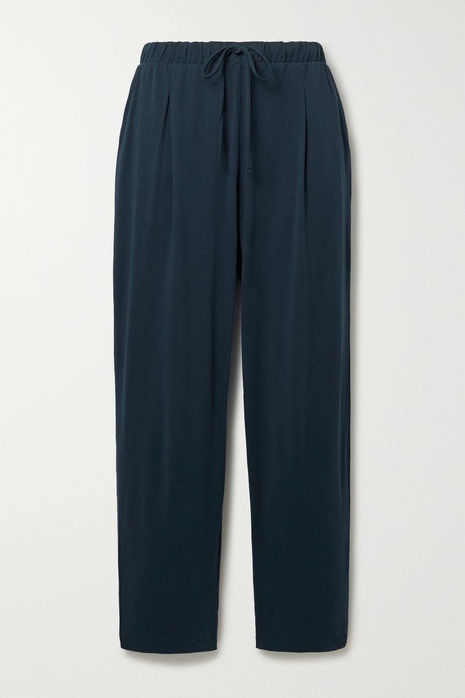 Skin Savina Pima cotton-jersey pajama pants