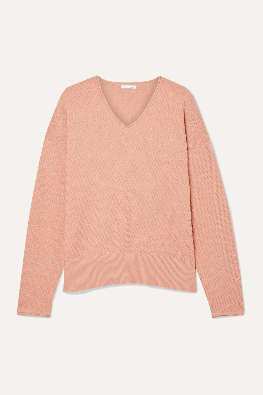 Skin Deana cotton-blend sweater